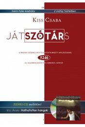 Játszótárs - A magyar szókincs bővítése átértelmezett kifejezésekkel + CD melléklet - Kiss Csaba - Régikönyvek