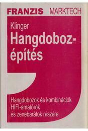 Hangdobozépítés - Klinger - Régikönyvek