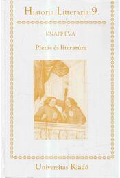 Pietás és literatúra (dedikált) - Knapp Éva - Régikönyvek