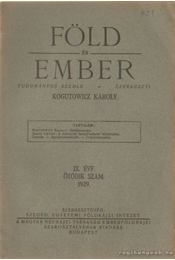 Föld és ember 1929. IX. évf. 5. szám - Kogutowicz Károly - Régikönyvek