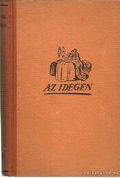 Az idegen - Kolozs Pál - Régikönyvek