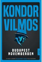 Budapest novemberben - Kondor Vilmos - Régikönyvek