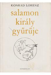 Salamon király gyűrűje - Konrad Lorenz - Régikönyvek