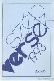 Szép versek 1993 - Körmendy Zsuzsanna - Régikönyvek