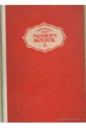 Modern költők I-III. - Kosztolányi Dezső - Régikönyvek