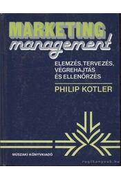 Marketing management - Kotler, Philip - Régikönyvek