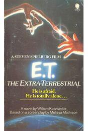 E.T. The Extra-Terrestrial - Kotzwinkle, William - Régikönyvek