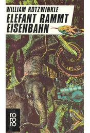 Elefant rammt Eisenbahn - Kotzwinkle, William - Régikönyvek