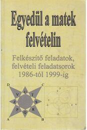 Egyedül a matek felvételin - Kovács Ágnes - Régikönyvek