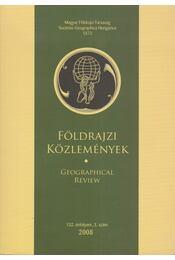 Földrajzi közlemények 2008/3. - Kovács Zoltán - Régikönyvek