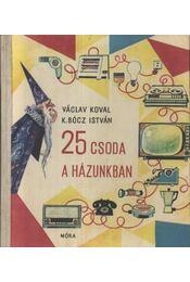 25 csoda a házunkban - Koval, Václav - Régikönyvek