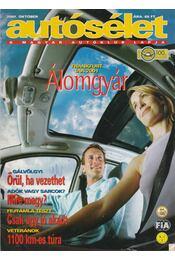 Autósélet 2001. október - Kováts László - Régikönyvek