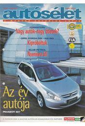 Autósélet 2002. január - Kováts László - Régikönyvek
