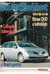 Autósélet 2002. október - Kováts László - Régikönyvek