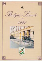 Bolyai Szemle 4. - Kováts László, Gróf Balázs, Dr. Kónya Béla, Hűvös Lajos - Régikönyvek