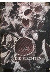Die Flechten 1953. - Kramm, Eberhard - Régikönyvek