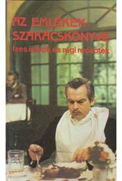 Az emlékek szakácskönyve - Krúdy Gyula - Régikönyvek
