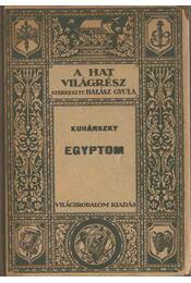 Egyiptom - Kuhárszky Tihamér - Régikönyvek