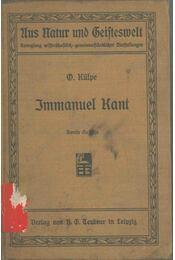 Immanuel Kant - Külpe, Oswald - Régikönyvek