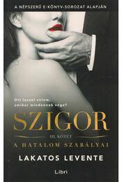 Szigor III. - Lakatos Levente - Régikönyvek