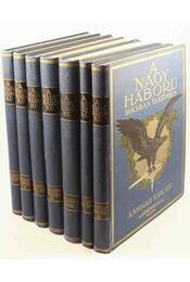 A Nagy Háború írásban és képben I-III. rész (hét kötet - teljes) - Régikönyvek