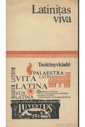 Latinas viva - B. Révész Mária, P. Mayer Erika, Tegyey Imre - Régikönyvek