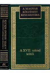 A XVII. század költői - Lator László - Régikönyvek
