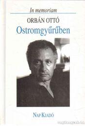 Ostromgyűrűben - Lator László - Régikönyvek