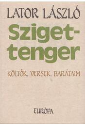 Szigettenger - Lator László - Régikönyvek