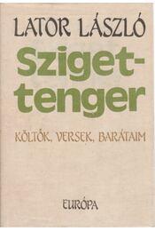 Szigettenger (dedikált) - Lator László - Régikönyvek