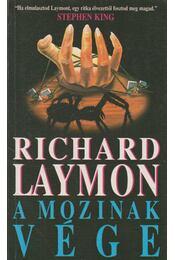 A mozinak vége - Laymon, Richard - Régikönyvek