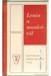 Lenin a munkáról (mini) - Régikönyvek