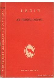 Az irodalomról - Lenin - Régikönyvek