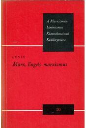 Marx, Engels. marxizmus - Lenin - Régikönyvek