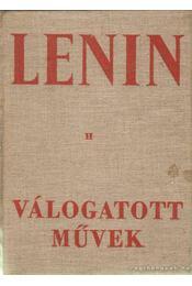 Válogatott művek II. kötet - Lenin - Régikönyvek