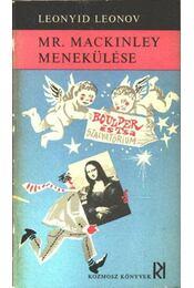 Mr. MacKinley menekülése - Leonov, Leonyid - Régikönyvek