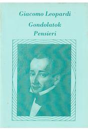Gondolatok / Pensieri - Leopardi, Giacomo - Régikönyvek