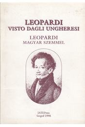 Vista Dagli Ungheresi - Leopardi, Giacomo - Régikönyvek