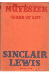 Művészek - Lewis,Sinclair - Régikönyvek