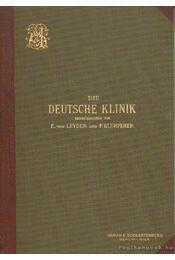 Die Deutsche Klinik X. Band, 2. Abtheilung - Leyden, Dr. Ernst v., Klemperer, Dr. Felix - Régikönyvek