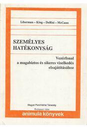 Személyes hatékonyság - Liberman-King-DeRisi-McCann - Régikönyvek