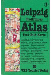 Tourist Stadtführer-Atlas Leipzig - Fellmann, Walter, Czok, Karl - Régikönyvek