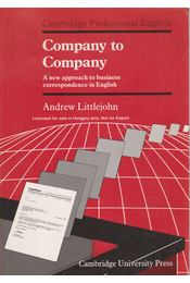 Company to Company (Student's Book) - Littlejohn, Andrew - Régikönyvek
