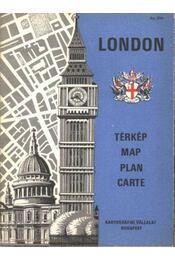 London (térkép 1:12500) - Régikönyvek