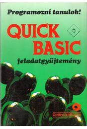 Quick Basic feladatgyűjtemény - Lukács Ottó - Régikönyvek