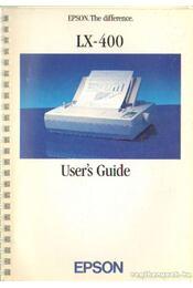 LX-400 User's Guide - Régikönyvek