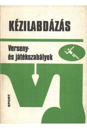 Kézilabdázás - Madarász István - Régikönyvek