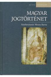 Magyar jogtörténet - Mezey Barna - Régikönyvek