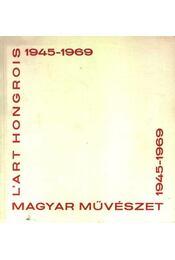 Magyar művészet 1945-1969 - Régikönyvek