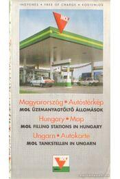 Magyarország autóstérkép - Régikönyvek